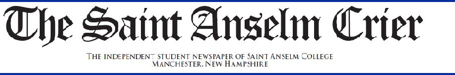 The student news site of Saint Anselm College