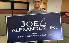 Joe Alexander, Saint Anselm senior, runs for State Representative