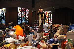 Campus Ministry calls for Thanksgiving baskets: 115 so far