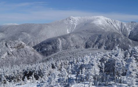 Professor Cleven's photograph of Mount Lafayette wins third prize