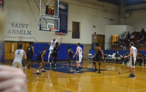 Men's basketball wins fifth straight after downing Adelphi 88-76