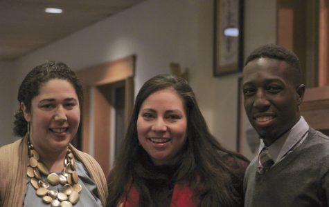 Stokes '17 and Professor Brady '99 receive Social Justice Award at MLK Jr. Dinner