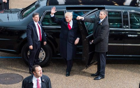 Trump's inauguration reflects divided nation
