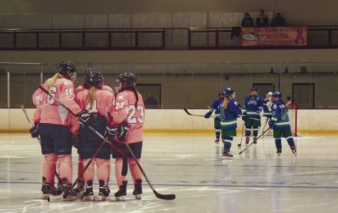 Women's hockey continues hot streak with win and tie on Pink in the Rink Weekend