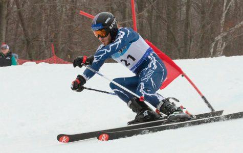 Report on ski team as season begins to wind down
