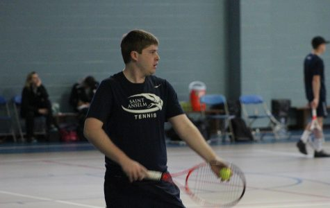 Men's tennis continues to struggle  with 8-1 loss against Adelphi