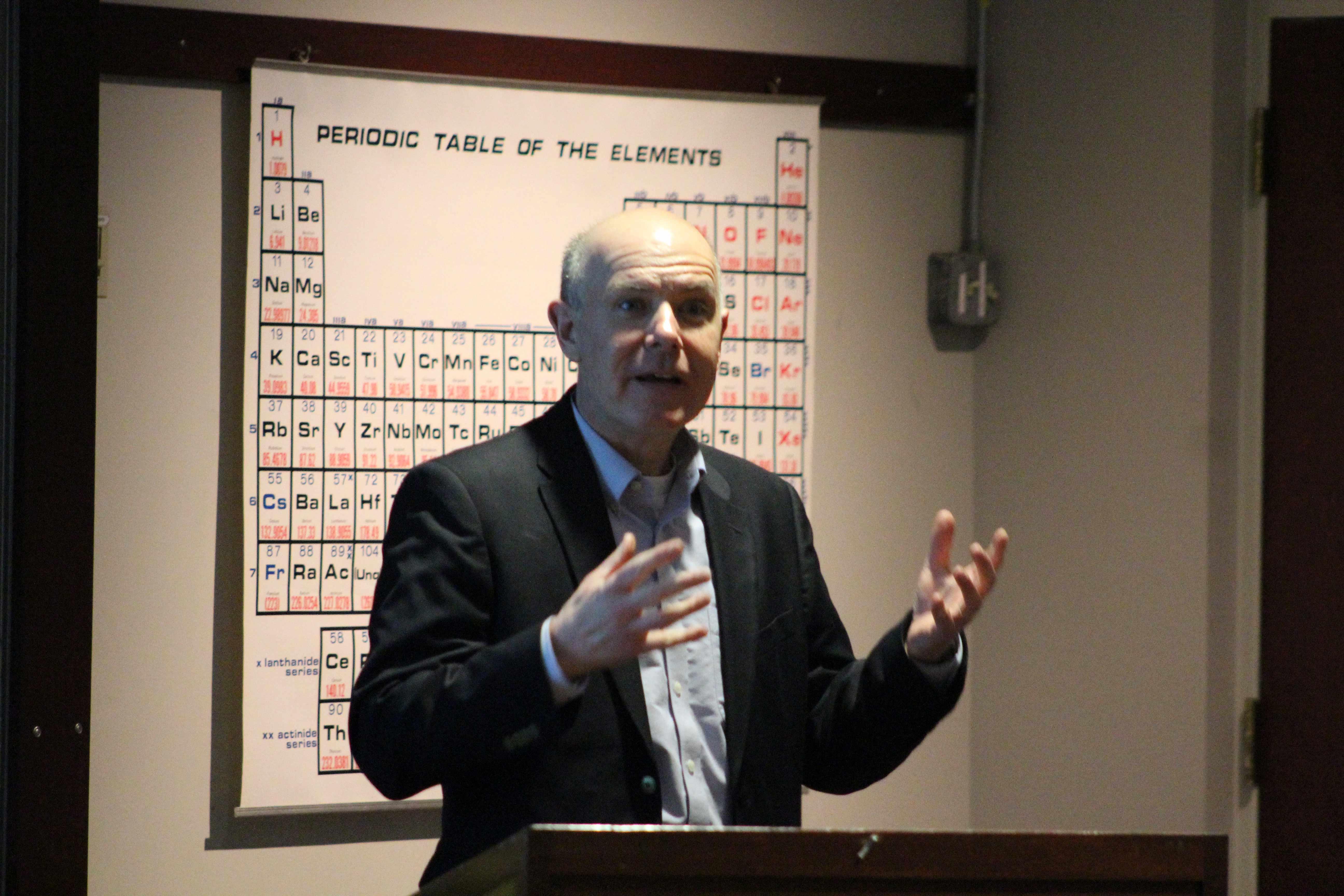 Dr. Doug Irwin, an economics professor at Dartmouth College.