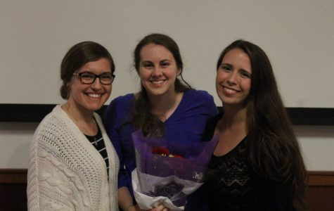 Heather Tagg '17 receives Campus Ministry's 2017 Daniel P. Leahy Award for servant leadership