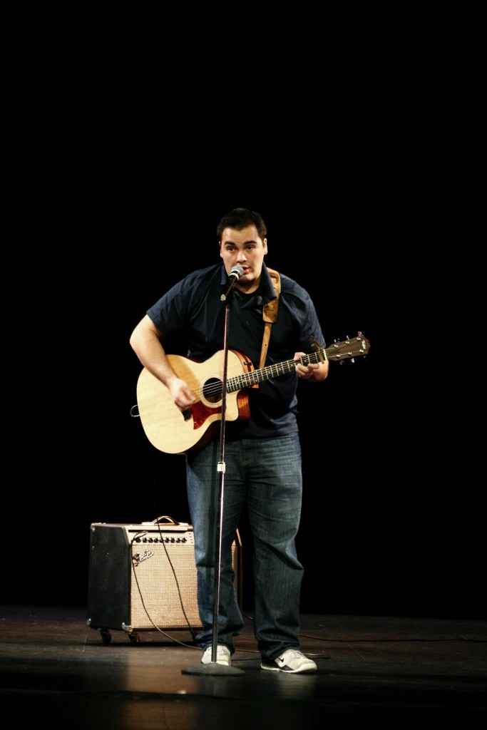 Ethan Lawrence performed at St. A's Got Talent