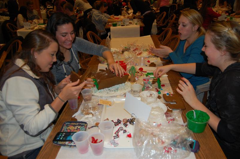 The annual Holiday Feast: Bringing Christmas to campus