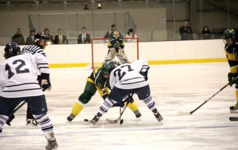 Men's Hockey on a three game winning streak, team bonding to thank for successful season thus far