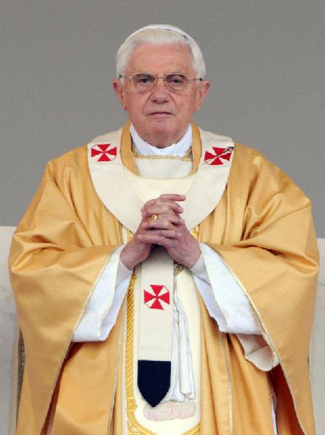 Pope benedict condoms
