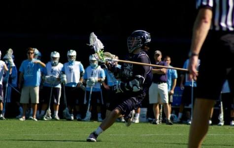 Men's Lacrosse shows promising offense for spring season