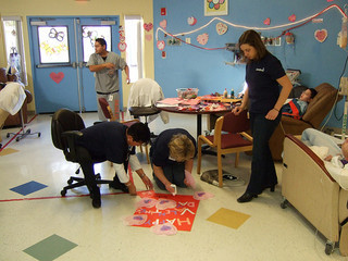 St. Valentine's Day service project begins with help from St. As alum