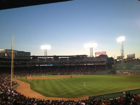 Red Sox getting socked