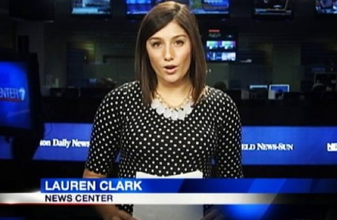 Lauren Clark accepted a job at Channel 7 News in Dayton, Ohio