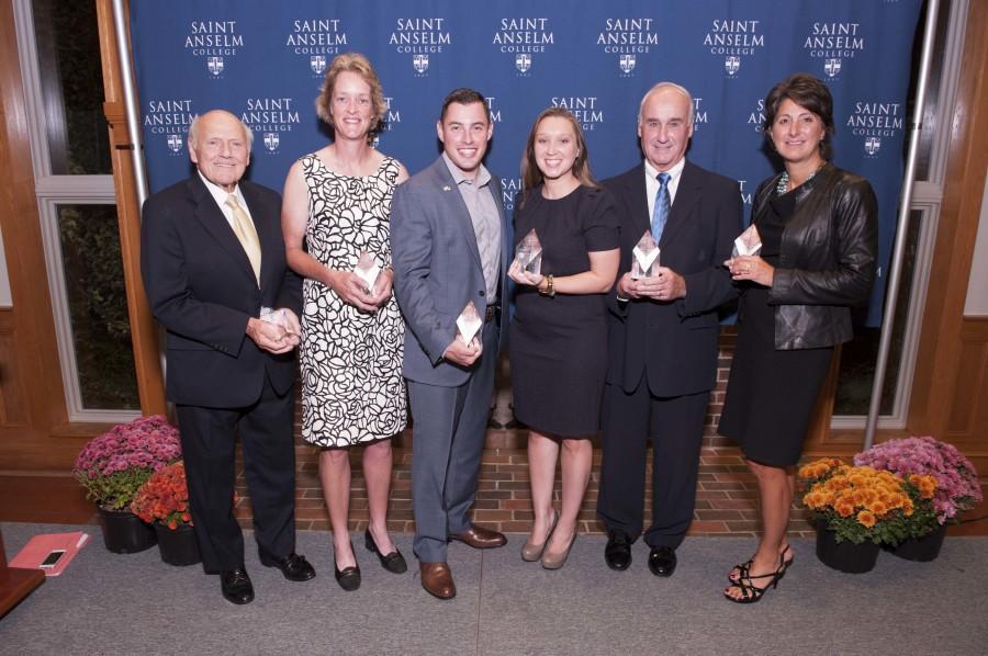 Alumni Association recognizes six outstanding Anselmians