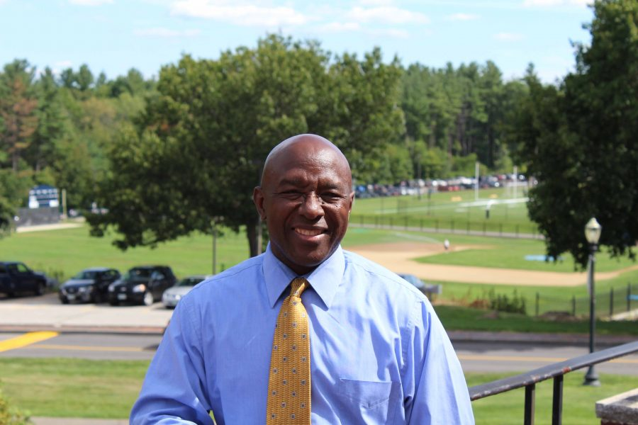 Wayne Currie, new director of Multicultural Center