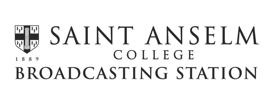 Saint+Anselm+College+introduces+the+logo+for+its+new+Broadcasting+Station.