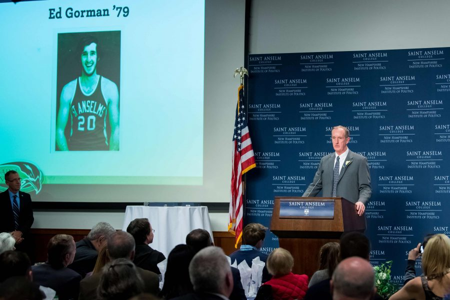 Ed Gorman '79 talks about his career with Hawk men's basketball.