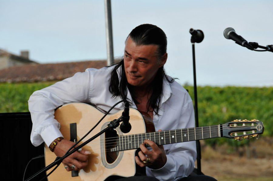 Lulo Reinhardt, a German guitarist.