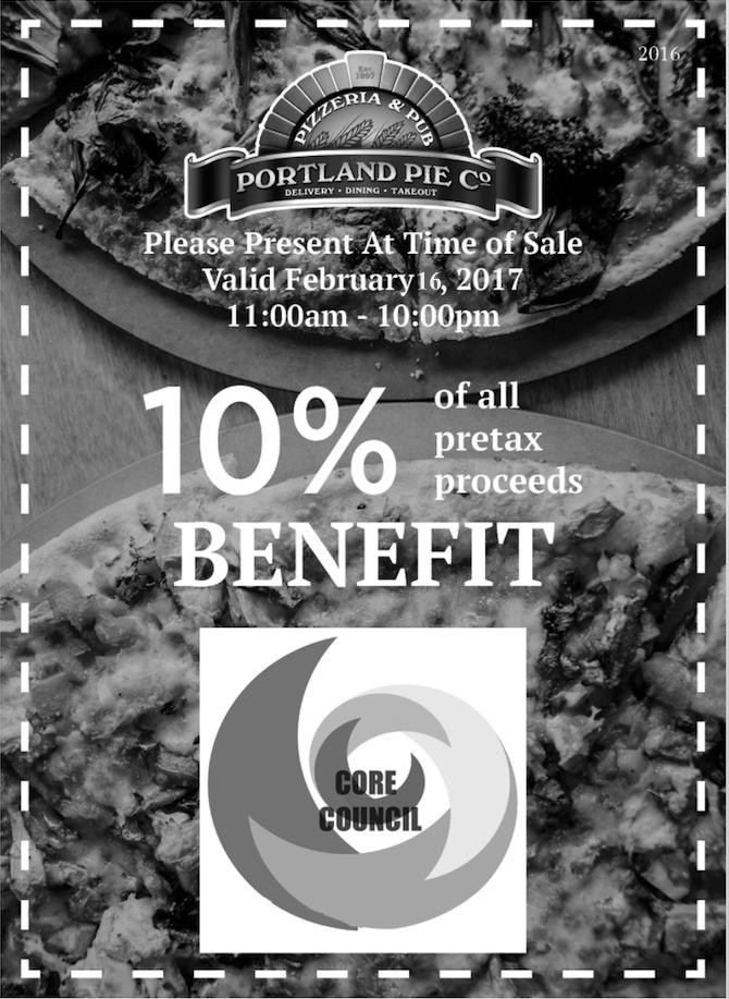 Voucher valid Feb 16. 10 percent of proceeds benefit local homeless teens.