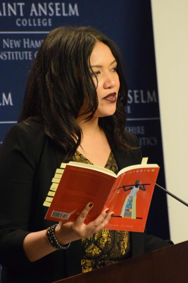Tiana Clark reads from Equilibruim.