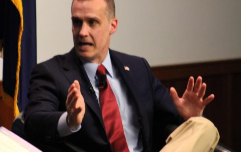 Trump's former campaign manager speaks at Saint A's