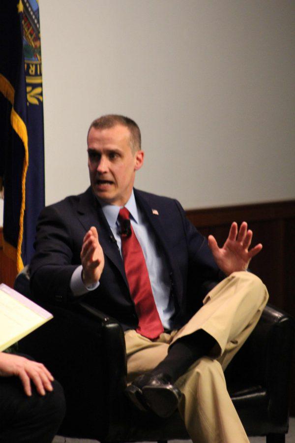 Corey Lewandowski discusses his start in politics.