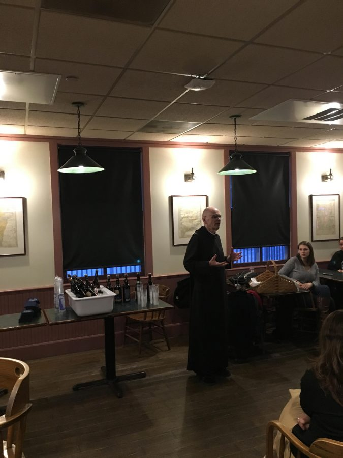 Abbot Matthew Leavy, O.S.B. explains history of monastic breweries.