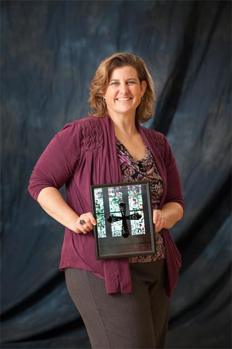 Sue Gabert, Campus Minstry director.