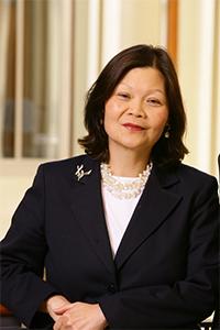 Dr. Carolyn Woo.