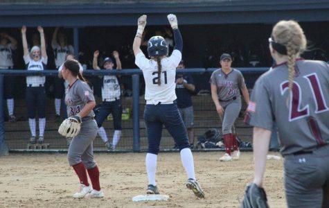 Softball suffers extra inning defeat to Merrimack College
