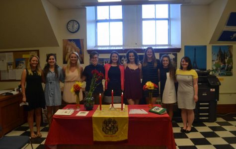 Hispanic honor society Sigma Delta Pi inducts nine students April 27