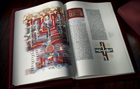 The Chapel Art Center celebrates a year with the St. John's Bible