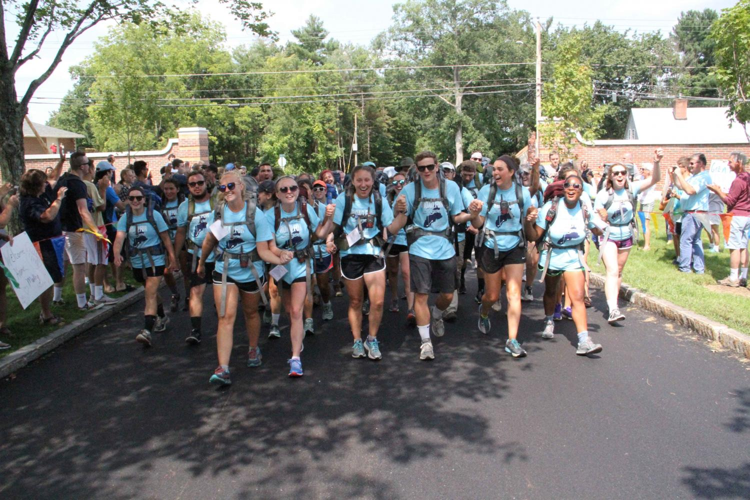 St. A's students unite to walk a road for hope