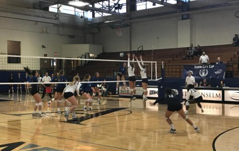Hawk volleyball continues win streak in yet another strong performance