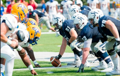 Football falls to Stonehill in fourth consecutive loss of the season
