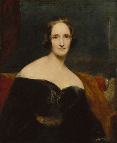 A portrait of Mary Wollstonecraft Shelley, who wrote Frankenstein at the age of 21.