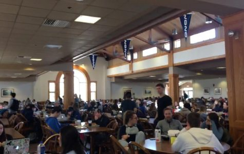 Study shows lines at Davison are longest at meal times
