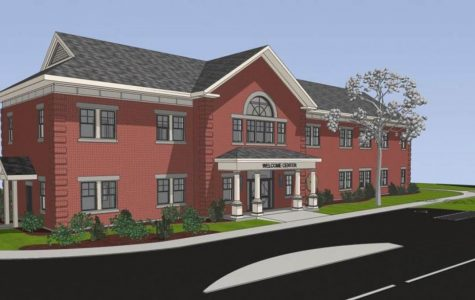 College releases first plans for new Welcome Center