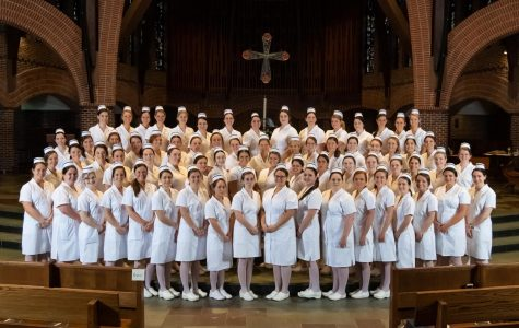 Sixty-nine senior student nurses receive their pins