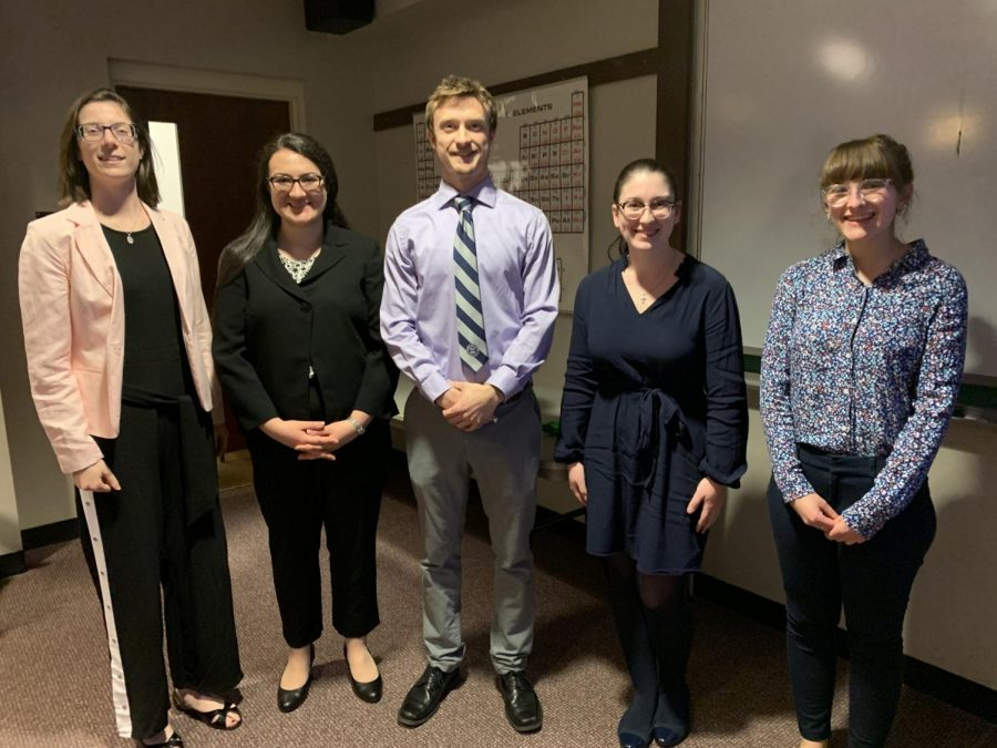 Students give presentation of research for SOAR