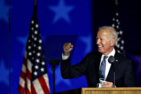 Biden projected to win Wisconsin, end of election in sight