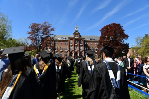 The Class of 2019 was the last Commencement ceremony to be held due to the Covid-19 Pandemic.