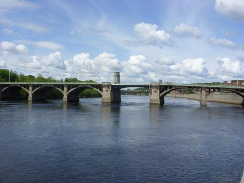 Haverhill, Massachusetts (above) still dumps sewage into the river during CSO events.