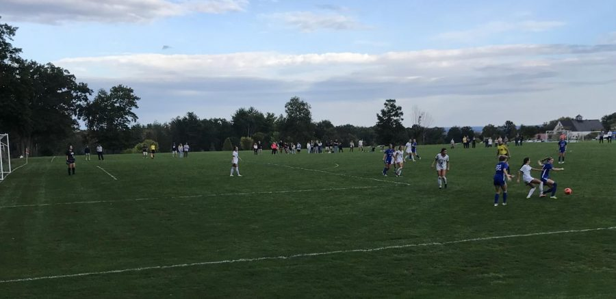 Hawks faced off against Assumption College on October 2 in a hard fought 1-0 loss.