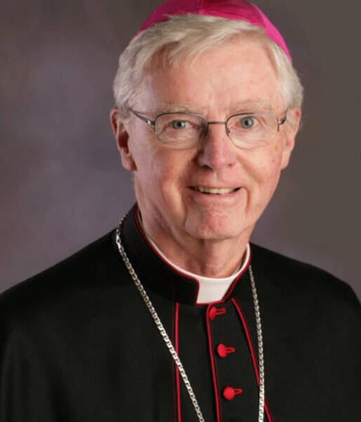 Bishop McCormack passed away at the age of 86.
