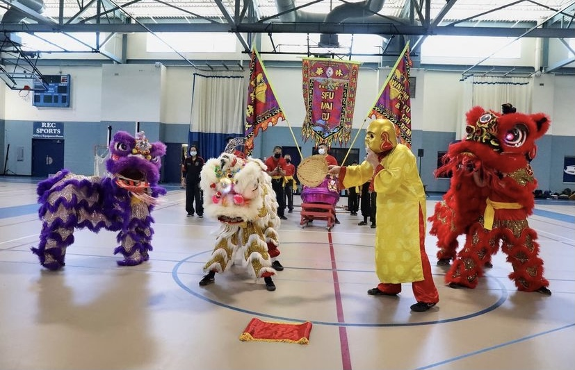 Traditional dances brought pieces of international cultures to Saint Anselm College